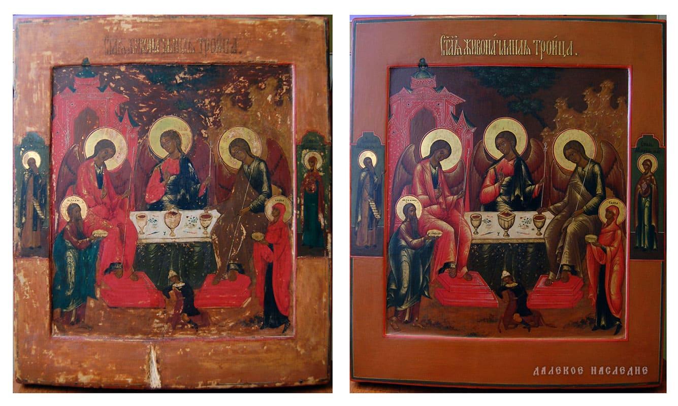 Иконы на заказ и реставрация